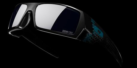 Oakley's 3D specs are a perfect blend of gaudiness and Tron: Legacy