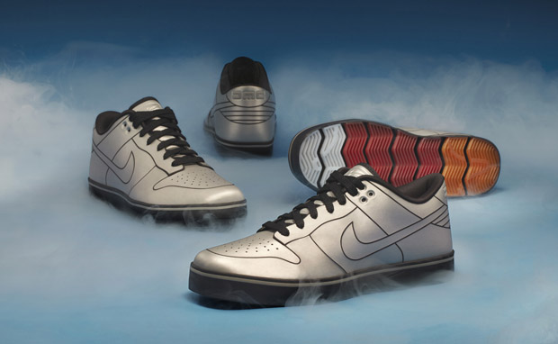 "DMC-12 x Nike 6.0 ""DeLorean Dunk"""