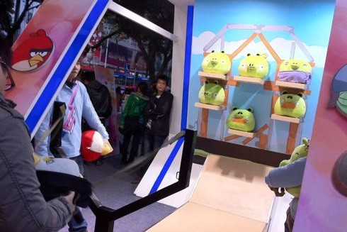Angry Birds gets real… corporeal (in China, at least)