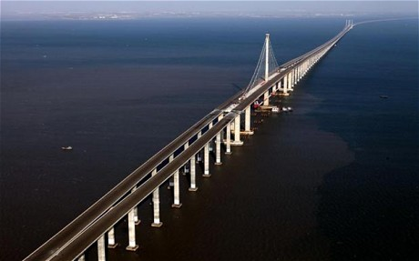 China has built the longest bridge in the world… so you don't have to dig that hole