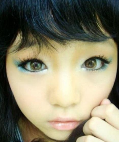 Loli Makeup Even Scarier Than The Regular Stuff