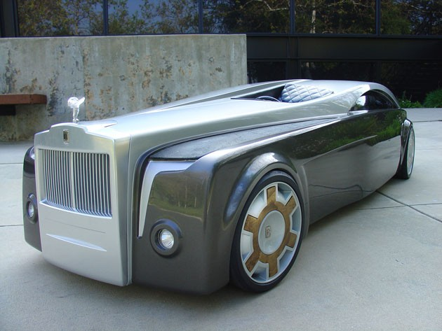 Rolls-Royce Apparition concept messes with our heads