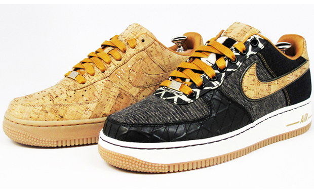 Bespoke Nike Air Force 1s by Edison Chen