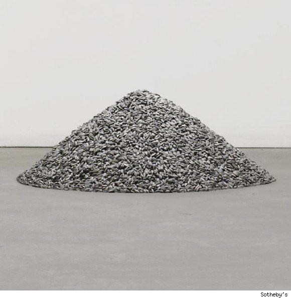 First Of Chinese Artist Ai Weiwei's Sunflower Seeds Up For Auction