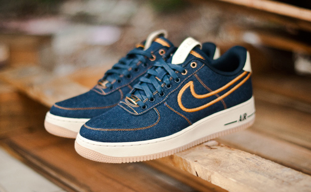 Nike Air Force 1 Low Denim/Bronze New Images