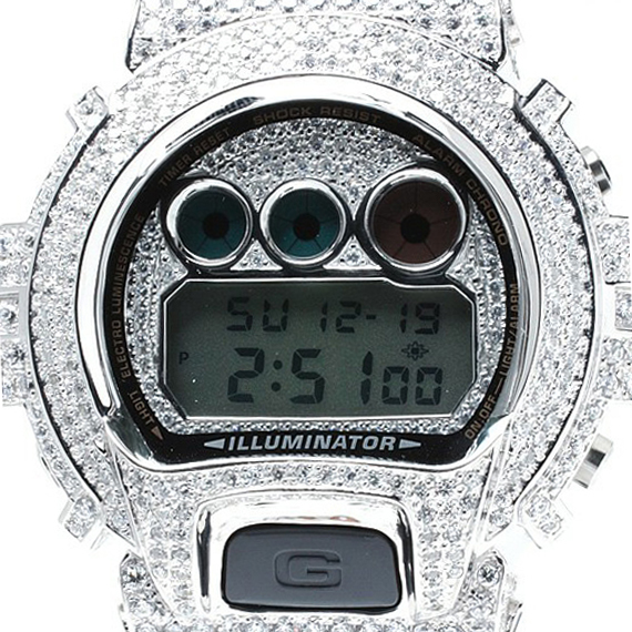 amp japan   Silver Case G Shock Watches