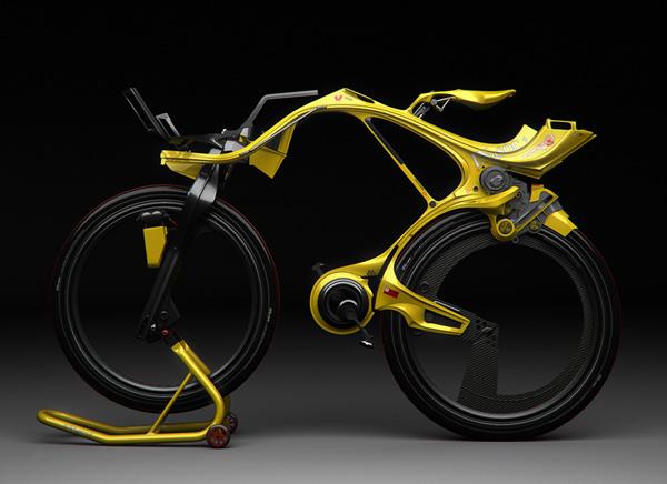 Extraterrestrial Hybrid Bike