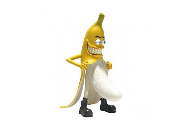 """HeadPlay """"Bad Banana Man"""" Toy"""