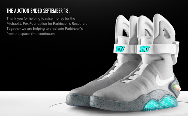 Nike MAG Auction 2011 Final Numbers